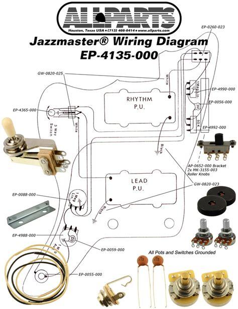 wiring diagram for fender jazzmaster html